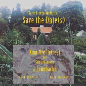 Datum för två Kum Nye Retreat i Juli 2017