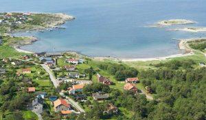Vy över Solvik och Kuggaviken